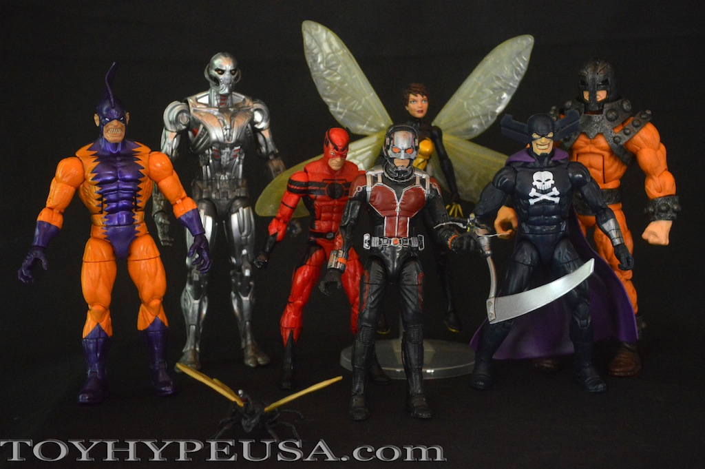 Hasbro Marvel Legends Avengers Infinite Series Ultron Build-A-Figure Wave Review