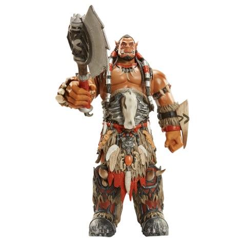 JAKKS Announces 20″ BIG FIGS Warcraft Deluxe Durotan – Available Now At Blizz Con