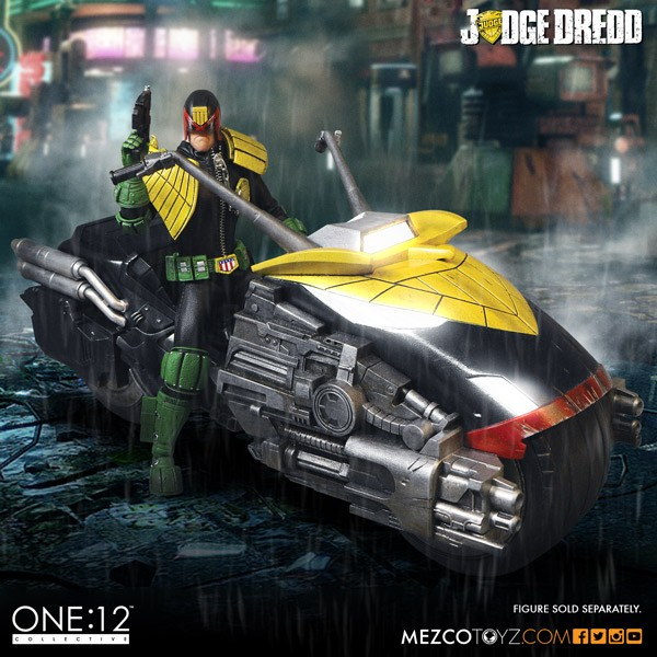 Mezco One:12 Collective – Judge Dredd's Lawmaster Product Details