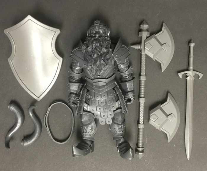 Mythic Legions Prototype Figure Test Shots Now With Lower Prices