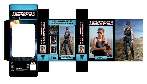 NECA Terminator 2 Ultimate Sarah Connor Packaging