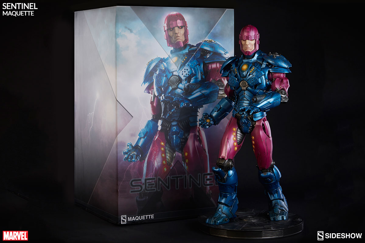 Sideshow Collectibles Sentinel Maquette Final Production Images