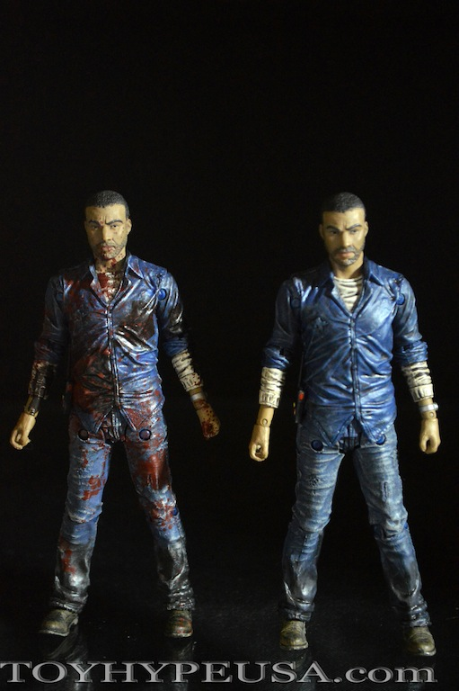 Skybound NYCC 2015 Exclusive The Walking Dead Lee Everett Figure Review