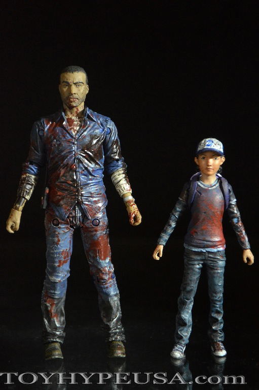 New York Comic détenu 2015 Exclusive The Walking Dead Lee Everett Action Figure Sanglante /& Régulier