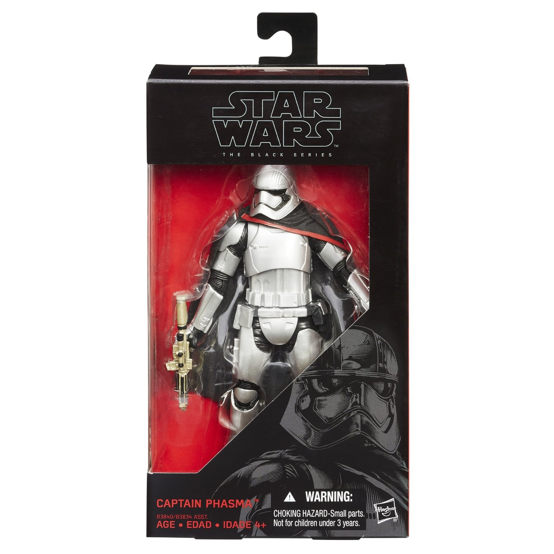 HasbroToyShop eBay Store – Star Wars Episode VII Black Series 6″ Captain Phasma Now $9.99