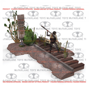 The Walking Dead Road to Terminus Construction Set