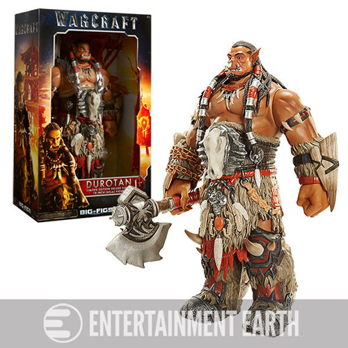 Entertainment Earth News: Blizzcon 2015 Exclusive Warcraft Deluxe Durotan Figure Pre-Orders