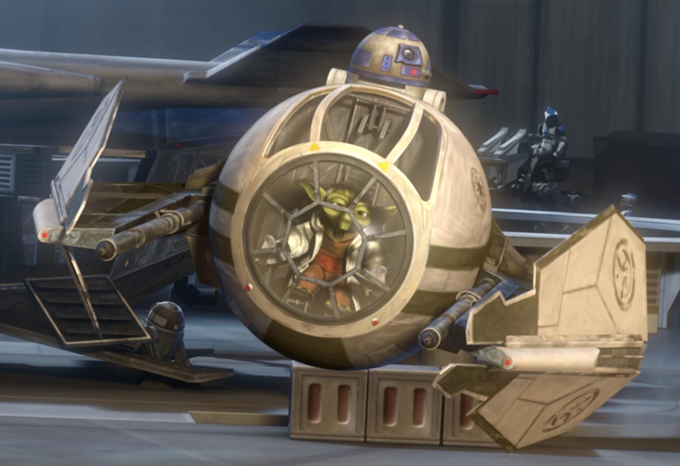 Wishlist Wednesday – Hasbro Star Wars The Black Series 6″ Scale Yoda's Starfighter