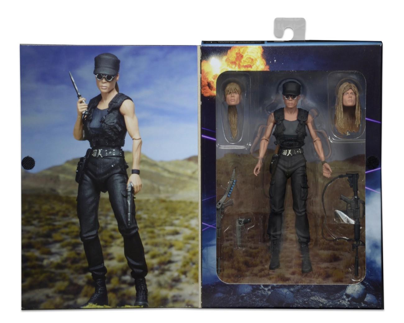 NECA Toys Closer Look: Terminator 2 Ultimate Sarah Connor 7″ Figure