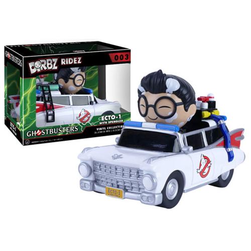 Ghostbusters Ecto-1 Dorbz Ridez With Egon & Stay Puft Marshmallow Man 6″ Dordz XL Vinyl Figures