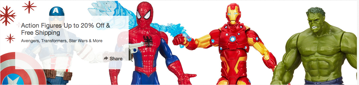 HasbroToyShop Offering Up To 20% Off Plus Free Shipping On Action Figures