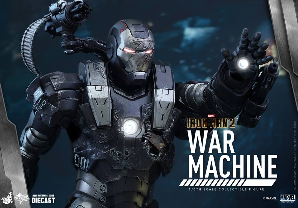 Hot Toys Iron Man 2 Diecast Sixth Scale Figure Revealed