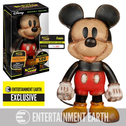 Mickey Mouse Vintage Premium Hikari Sofubi Vinyl Figure –  Entertainment Earth Exclusive