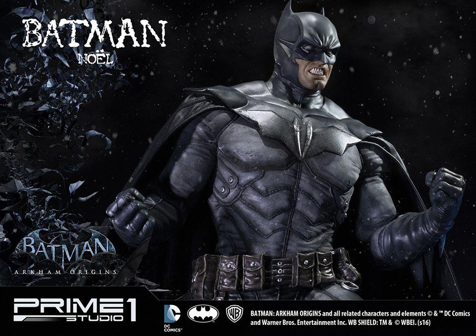 Prime 1 Studio Batman: Arkham Origins Batman Noel Statue Images & Details