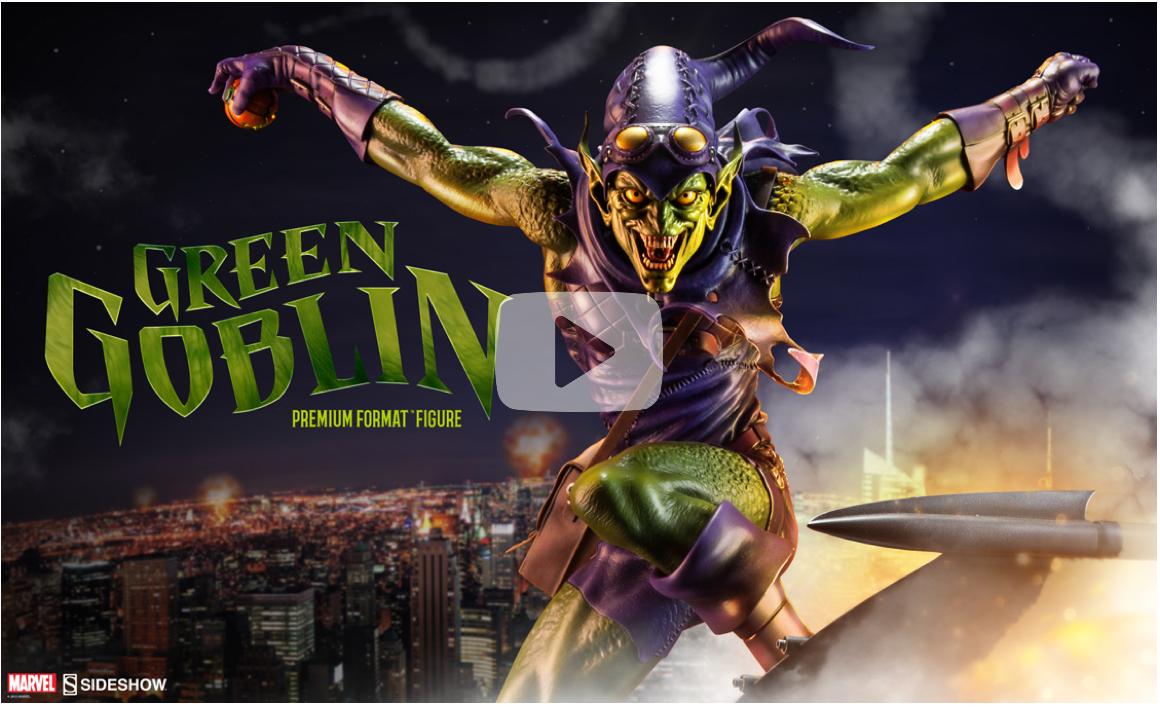 Sideshow Collectibles Announces Green Goblin Premium Format Figure