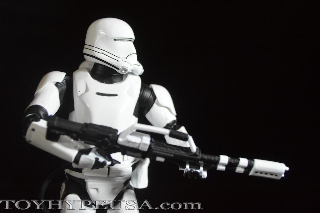 Star Wars Exclusive First Order Flametrooper Elite Series Die Cast Figure Review
