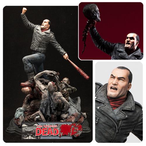 McFarlane Toys The Walking Dead Comic Negan 17″ Resin Statue