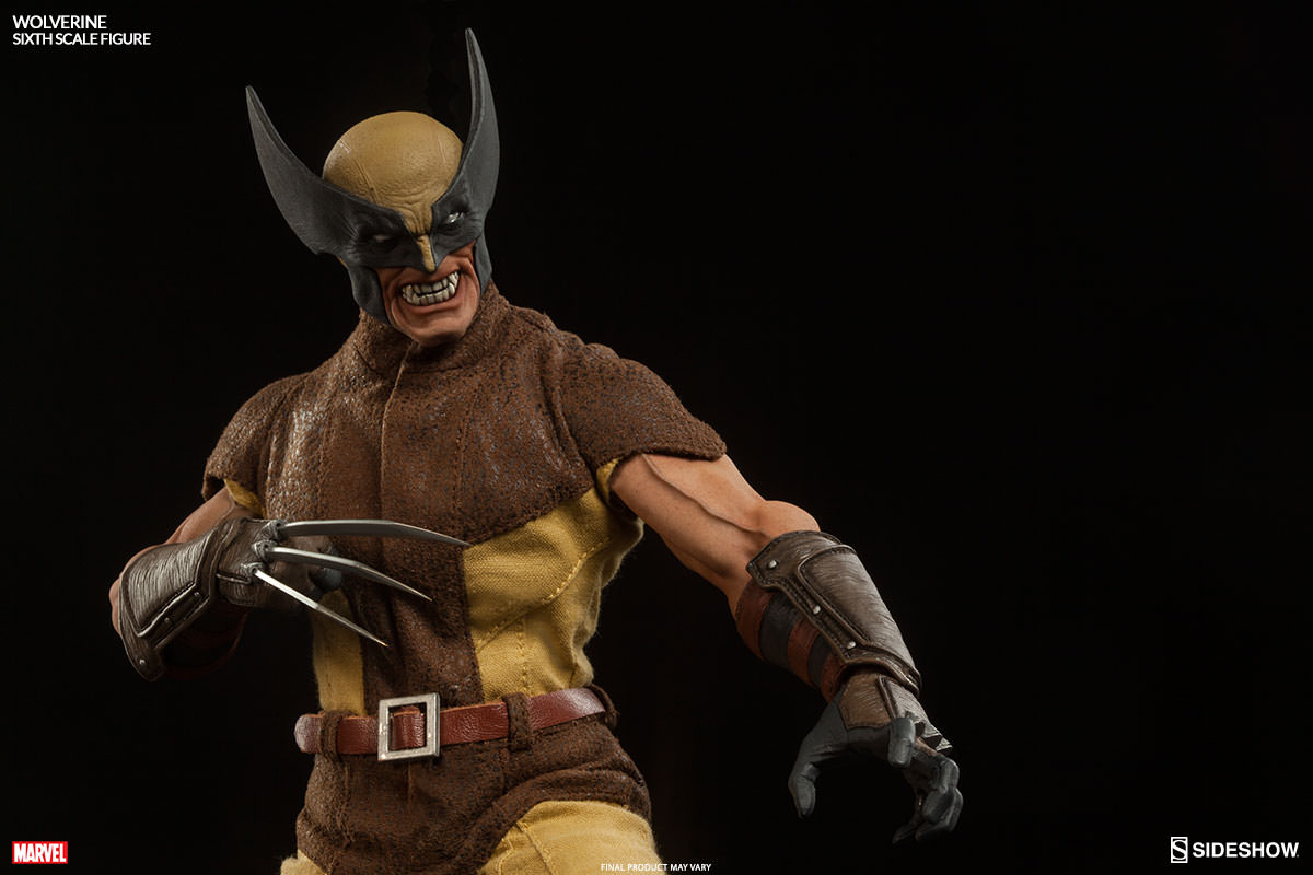 Sideshow Fully Reveals Their Wolverine Sixth Scale Figure