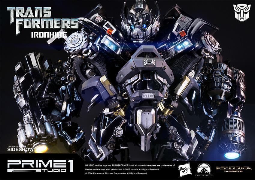 Transformers Ironhide Polystone Statue Pre-Orders