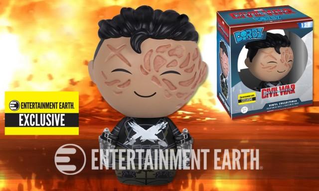 Captain America: Civil War Crossbones Unmasked Dorbz Vinyl Figure – Entertainment Earth Exclusive