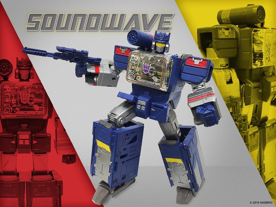 Hasbro Transformers Titans Return Leader Class Soundwave Figure Preview