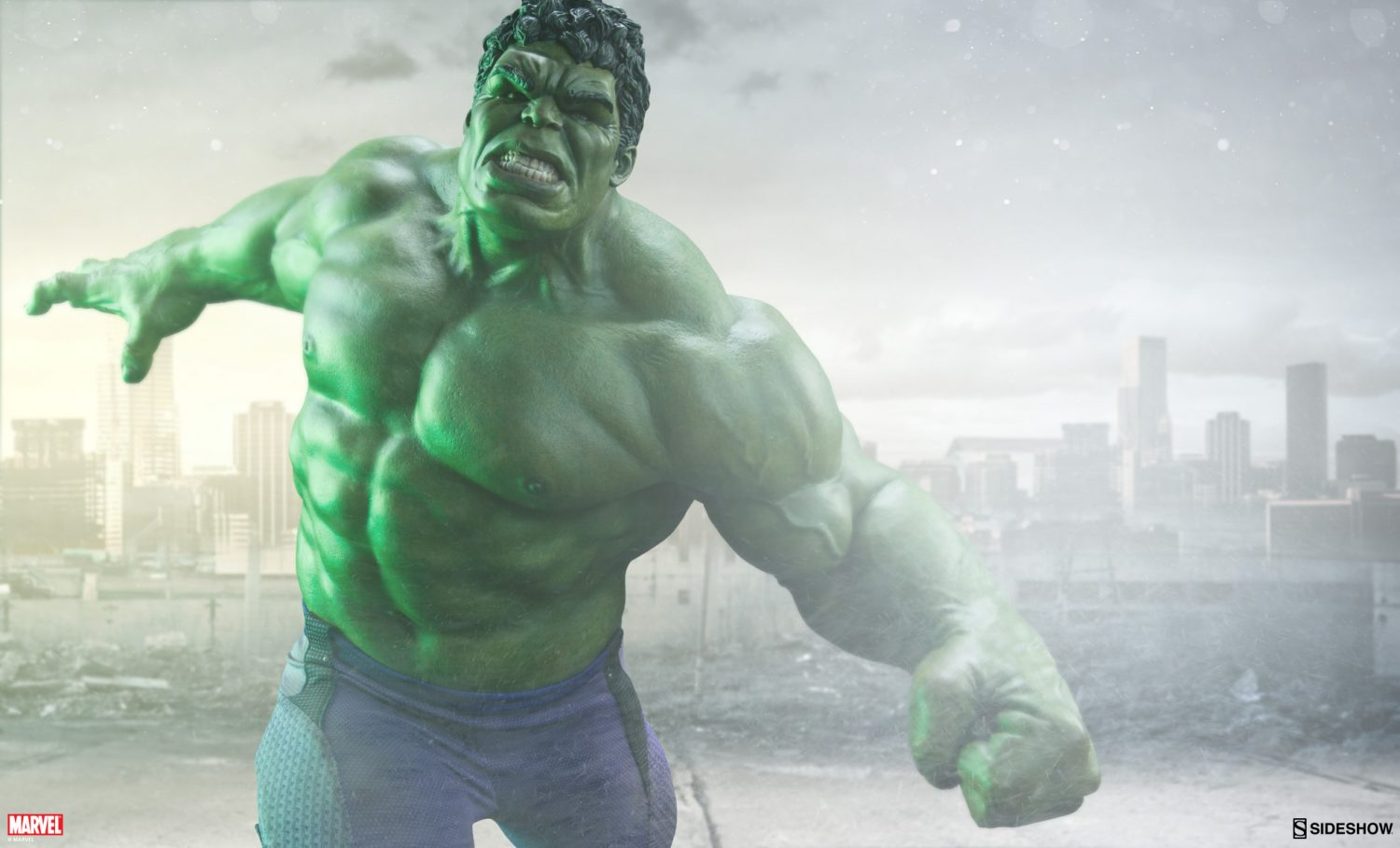 Sideshow Avengers: Age Of Ultron Hulk Maquette Images & Details