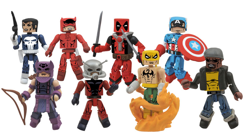 Diamond Select Toys On Sale This Week: Aliens, X-Files and Marvel's Greatest Hits