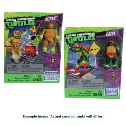 Mega Bloks Teenage Mutant Ninja Turtles Street Training Packs