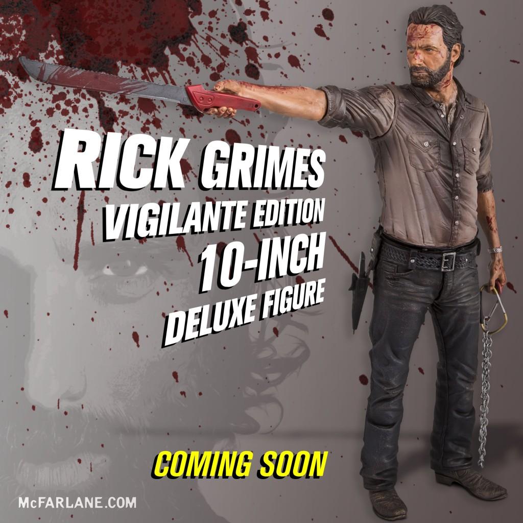 McFarlane Toys The Walking Dead 10″ Vigilante Rick Grimes