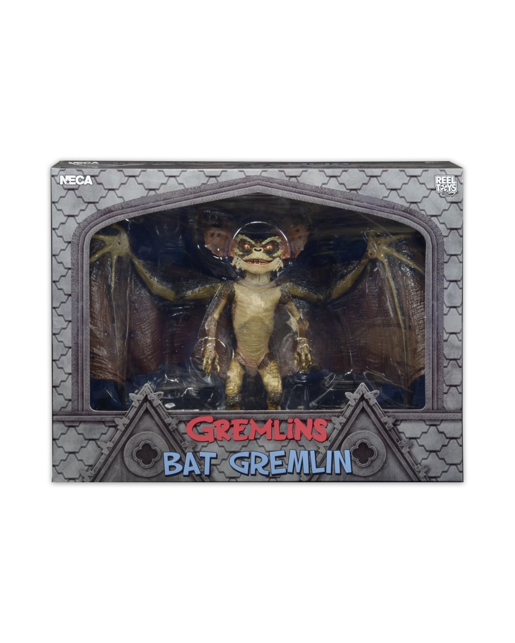 NECA Toys Provides In Package Images Of Gremlins 2 – Deluxe Boxed Action Figure – Bat Gremlin