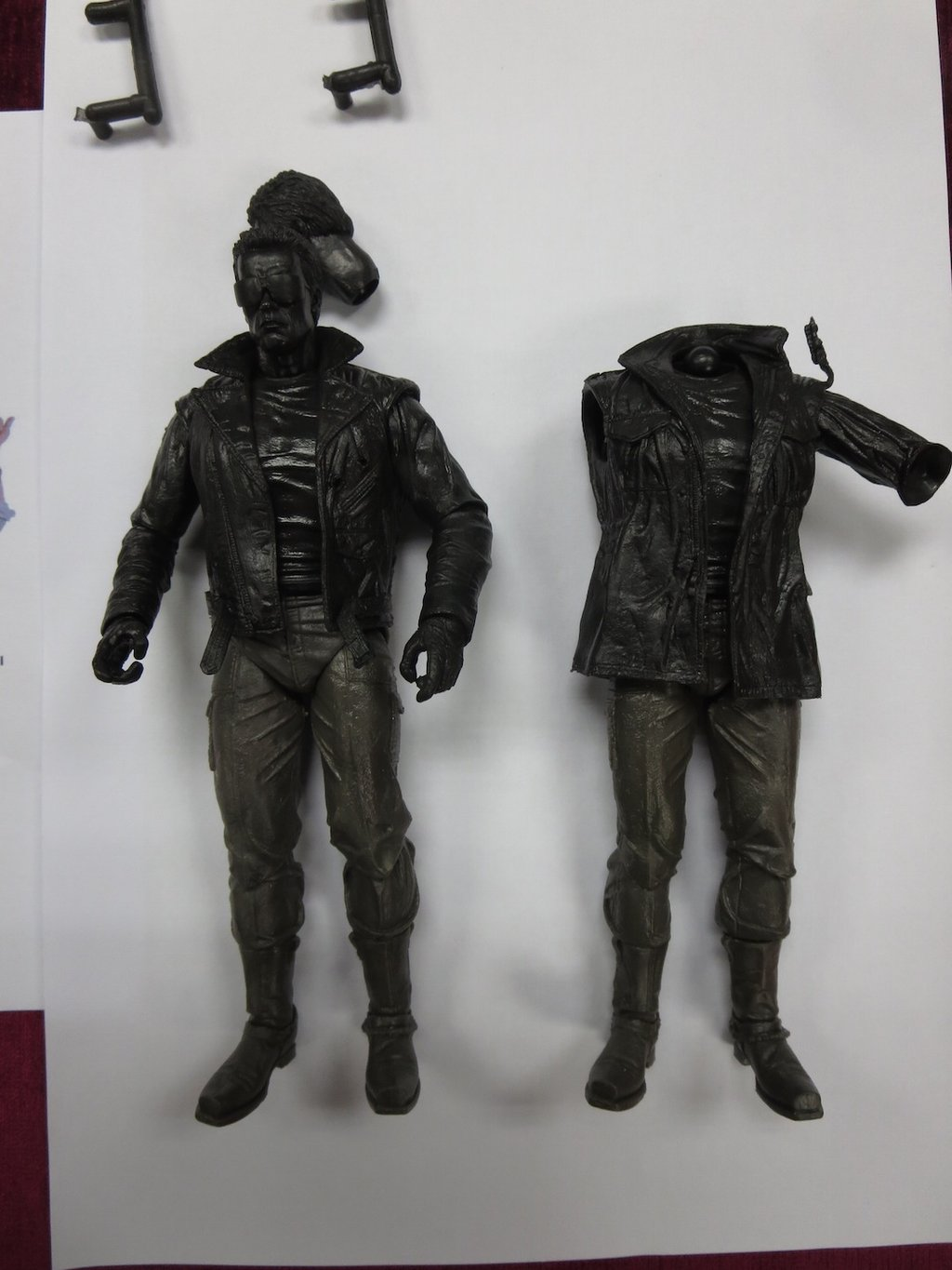 NECA Toys Previews Two T-800 Ultimate Terminator Figures