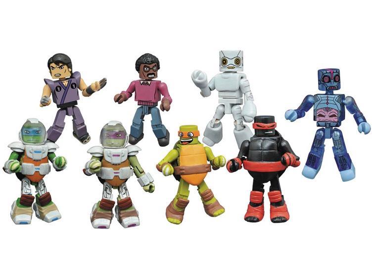 Teenage Mutant Ninja Turtles Minimates Series 4