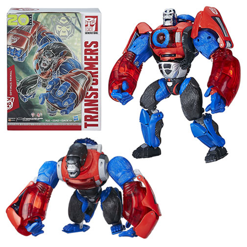 Transformers Platinum Edition Year Of The Monkey Optimus Primal Figure Now $61