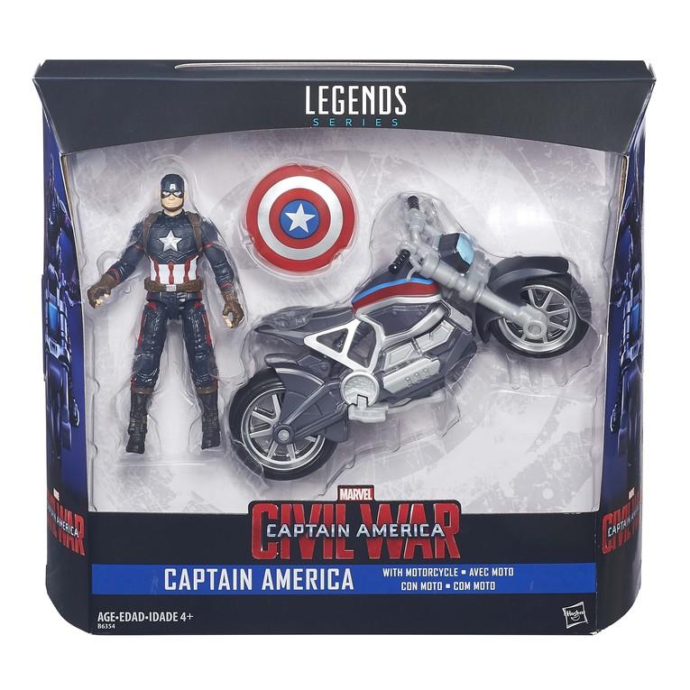 Hasbro Announces Captain America: Civil War Figures