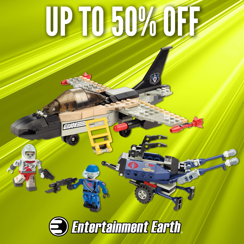 G.I. Joe Collectibles Are 50% Off Today At Entertainment Earth