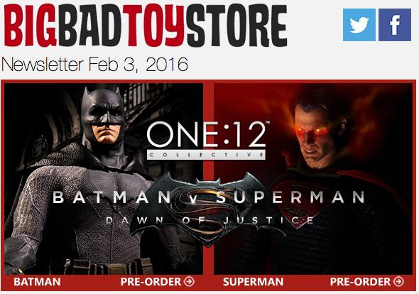 BBTS News: Batman v Superman, Fallout, Marvel, Bandai, MOTU, Transformers & More