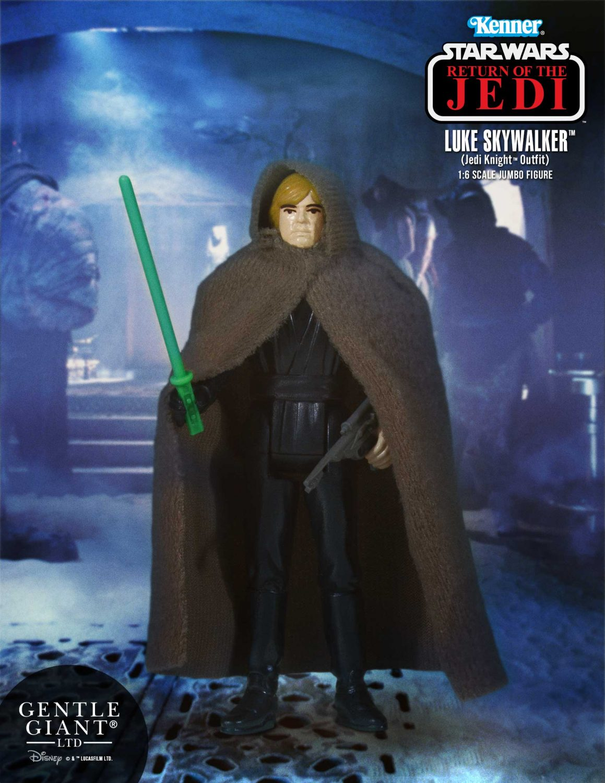 Gentle Giant Star Wars Jumbo Kenner Return Of The Jedi Luke