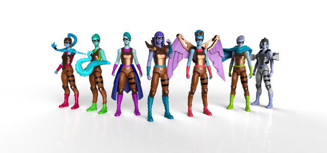 I Am Elemental Reveals New Female Action Figures: Series 2/Wisdom