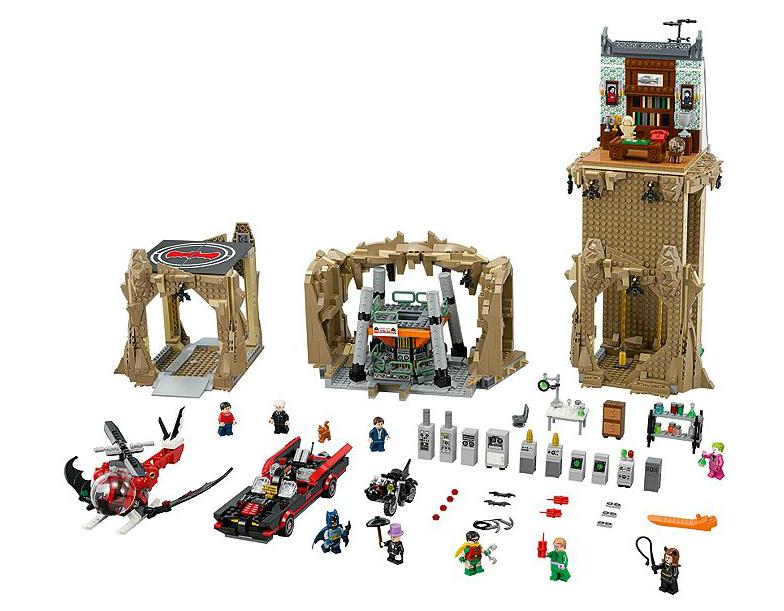 LEGO Batman Classic 1966 Batcave Now $199.99 On LEGO Shop
