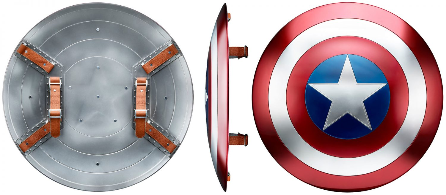 Hasbro Marvel Legends Captain America & Iron Man Roll-Play Items Up For Pre-Order On Amazon