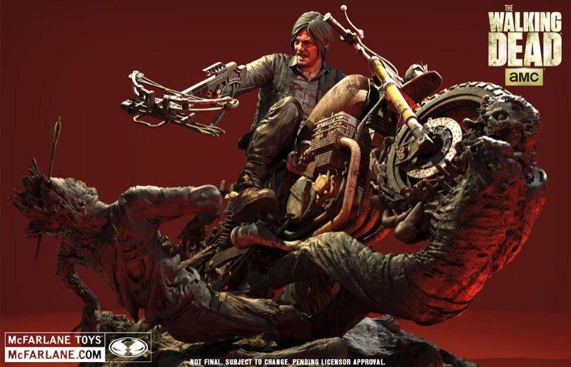 McFarlane Toys Announces The Walking Dead Daryl Dixon Resin Statue