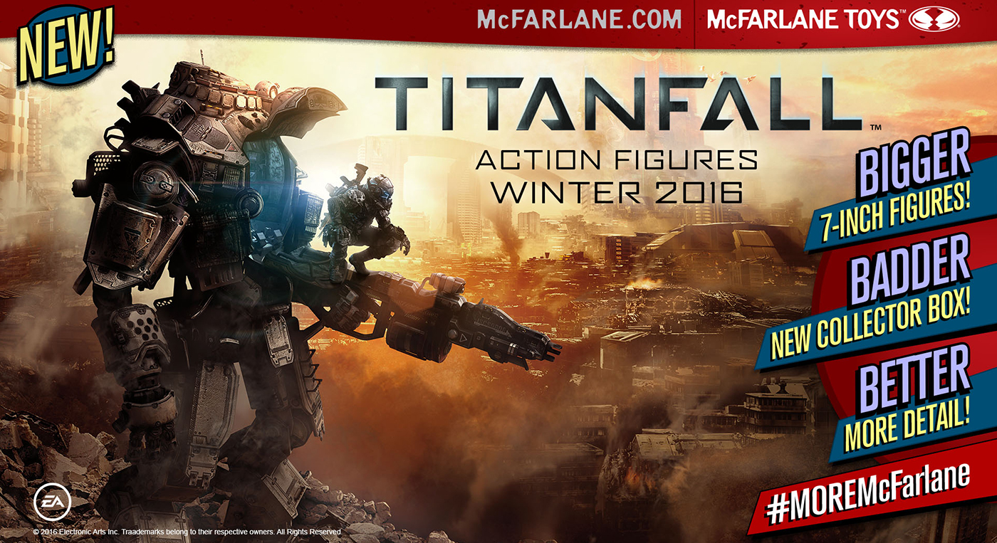 McFarlane Toys Announces Titanfall 2 Toys
