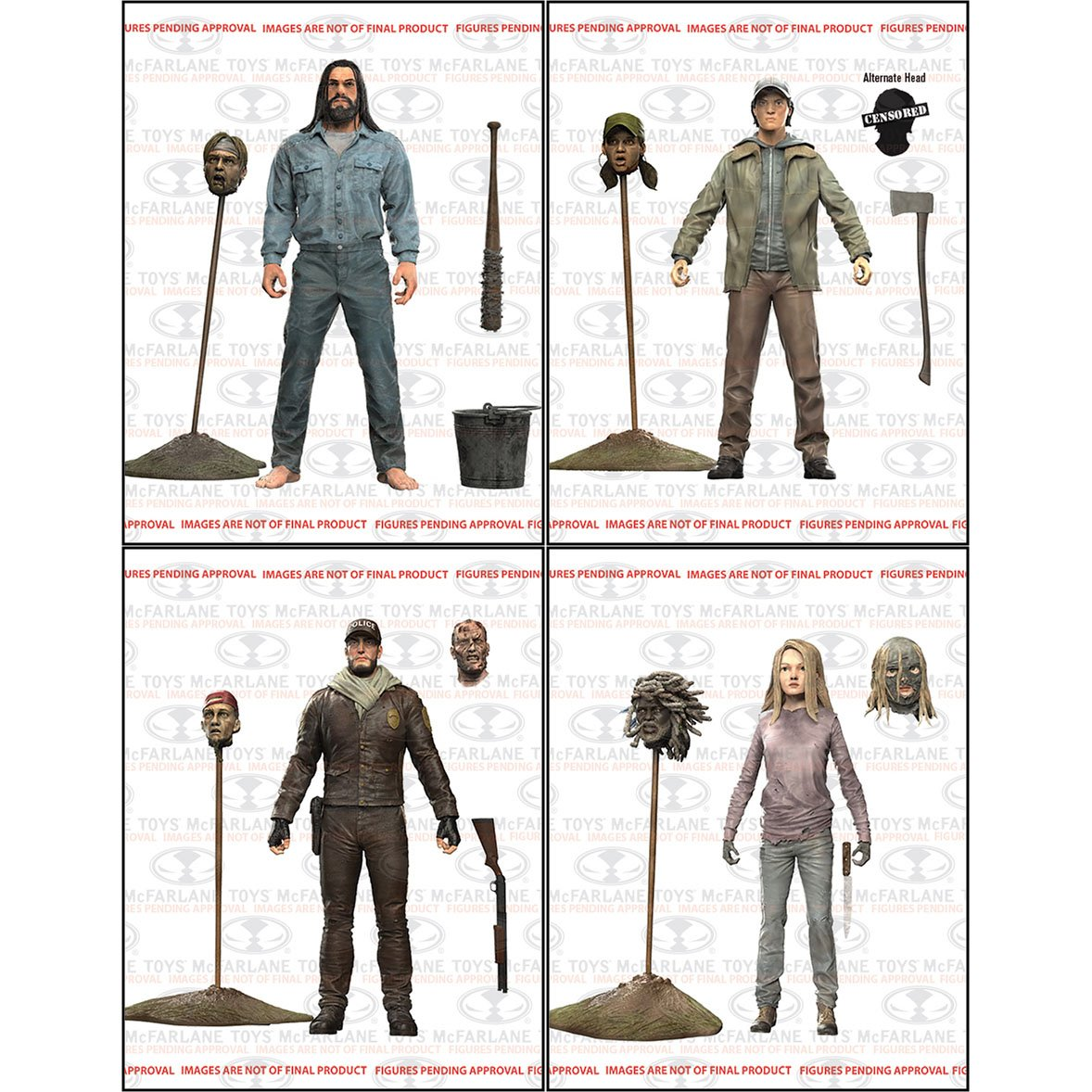 McFarlane Toys The Walking Dead Comic Series 5