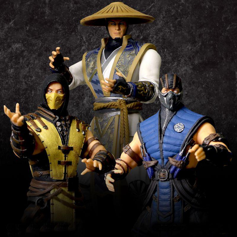 Mezco Toyz Mortal Kombat X 4″ Wave 1 Figures