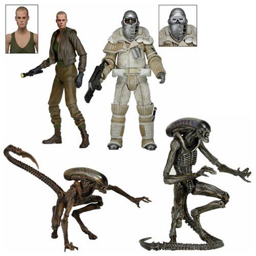 NECA Toys Alien 3 7-Inch Series 16 Action Figures