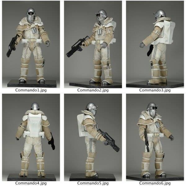 NECA Toys Alien 3 Weyland Yutani Commando Figure Detailed Look