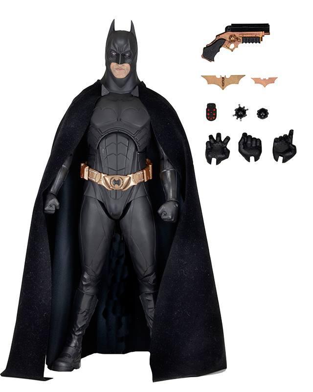 NECA Toys Shipping This Week: Batman Begins 1/4″, Ultimate Tech Noir Terminator & More