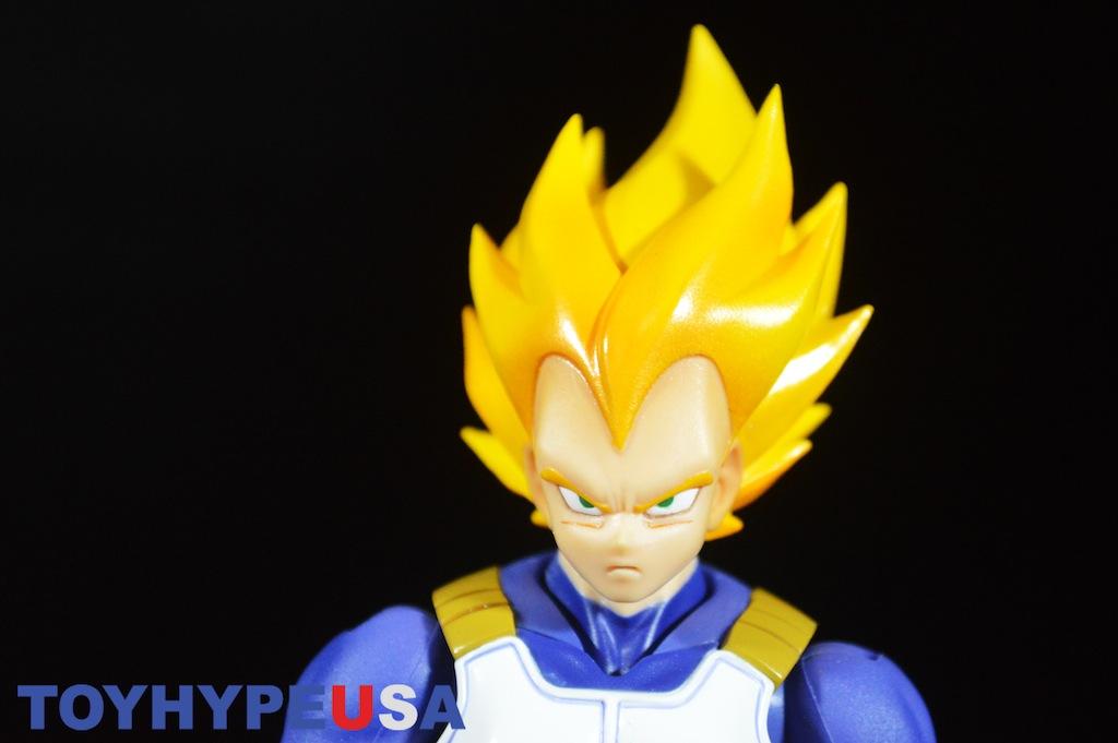 S.H. Figuarts Dragonball Z Super Saiyan Vegeta Premium Color Version Review