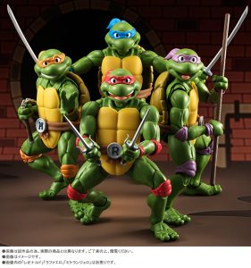 S.H. Figuarts Teenage Mutant Ninja Turtles