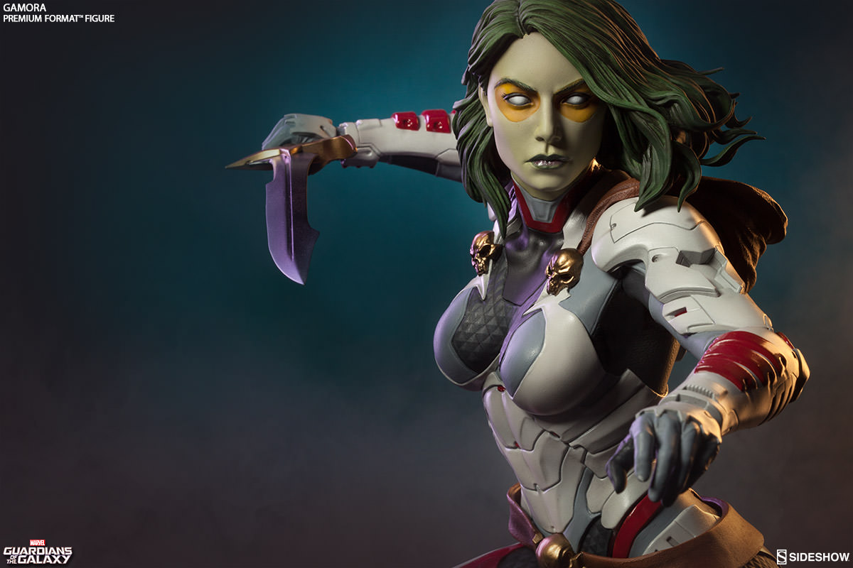 Sideshow Guardians Of The Galaxy Gamora Statue Pre-Orders